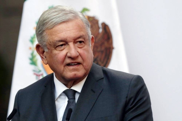 Mexico's President Andres Manuel Lopez Obrador said on Sunday he had tested positive for COVID-19.