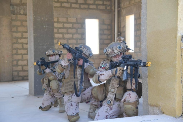 The exercise involved ground forces units, the UAE's Presidential Guard, and the US Marine Corps. — WAM photos