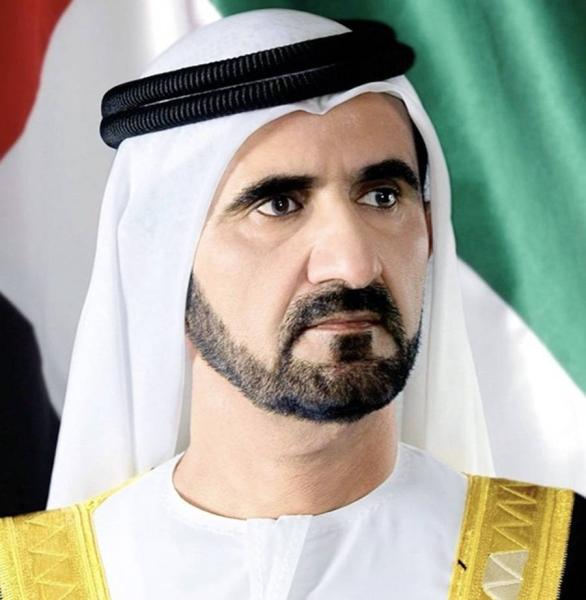 Sheikh Mohammed Bin Rashid Al Maktoum, the ruler of Dubai and prime minister and vice president of the UAE.