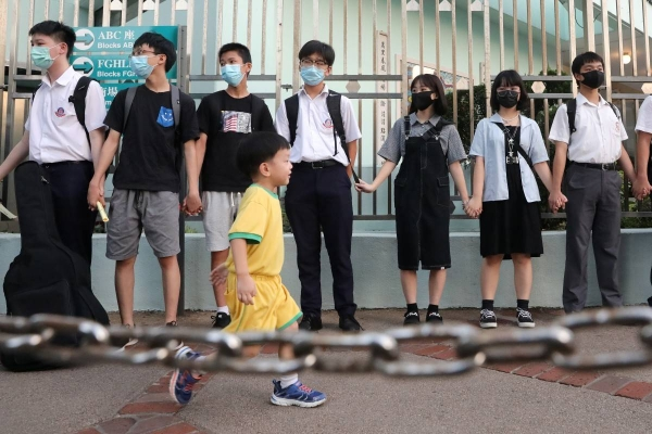 Hong Kong has introduced sweeping new restrictions for how schools operate, months after the Beijing government imposed a new national security law giving authorities wide-ranging powers to crack down on vaguely defined political crimes. — Courtesy photo