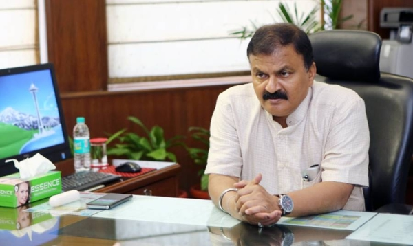 Guruprasad Mohapatra, secretary of the Indian government's Department for Promotion of Industry and Internal Trade.