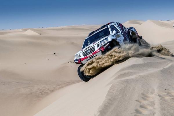 The Dubai International Baja combines two World Cup series on its return to the Al Qudra Desert. — courtesy  RallyZone - Edoardo Bauer