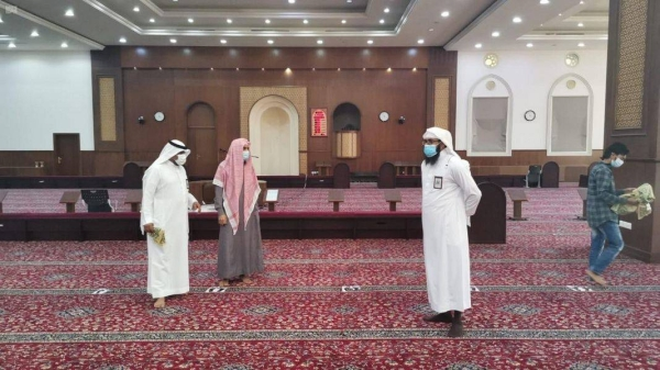 Minister urges faithful not to be a reason for closure of mosques