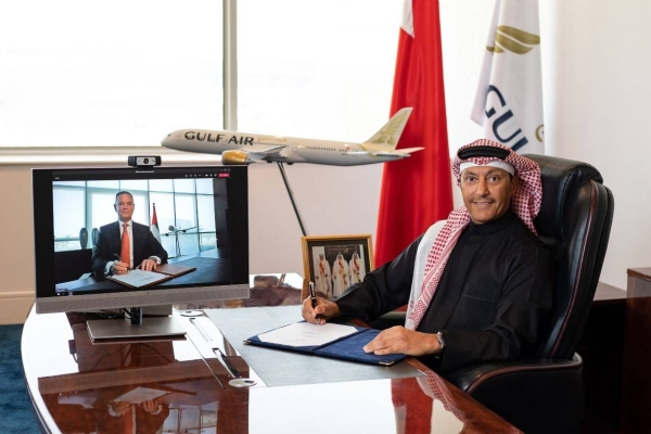 Etihad Airways, the national airline of the United Arab Emirates, and Gulf Air, the national carrier of the Kingdom of Bahrain, have signed a Strategic Commercial Cooperation Agreement (SCCA) to deepen their partnership between Abu Dhabi and Bahrain and beyond the respective hubs. — WAM photo