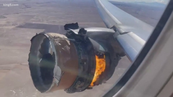 The groundings come after an engine attached to a United-operated 777 plane failed on Saturday, just minutes after the Honolulu-bound flight took off from Denver International Airport. — Courtesy photo