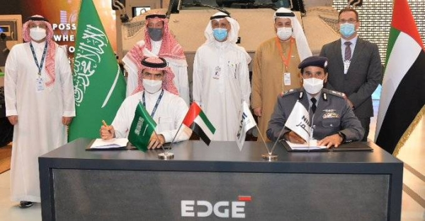 The agreement marks the first military industries between Saudi and Emirati companies to locally produce JAIS 4x4 vehicles in Saudi Arabia.