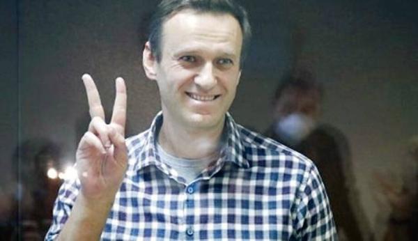File photo of Alexei Navalny.