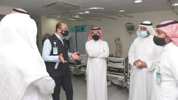 Emergency first aid center opens inside Grand Mosque in Makkah