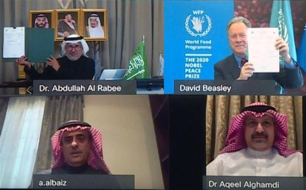 KSrelief signs $40m deal with WFP to prevent famine and malnutrition in Yemen