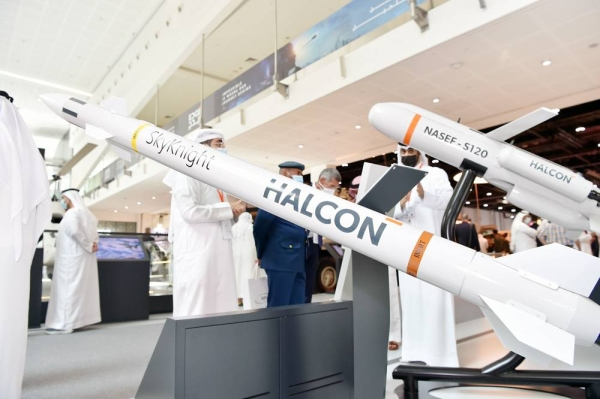 HALCON Tuesday unveiled SkyKnight — the first UAE designed and manufactured counter-rocket, artillery, and mortar (C-RAM) missile system, at the International Defense and Exhibition Conference (IDEX) 2021.