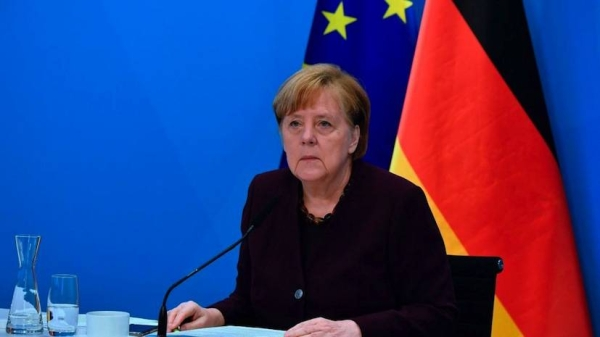 German Chancellor Angela Merkel has warned that her country could be caught in a third wave of COVID-19 if it lifts its lockdown too quickly. — Courtesy photo