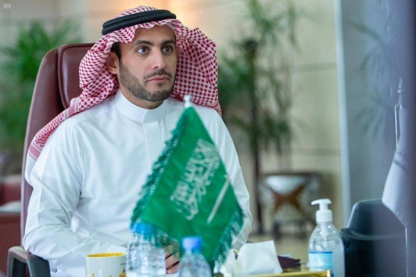 The governor of the Communications and Information Technology Commission (CITC) Dr. Mohammed bin Saud Al-Tamimi inaugurated on Thursday an international workshop on the role of Internet of Things technologies in enhancing the economy and serving societies. — File courtesy photo