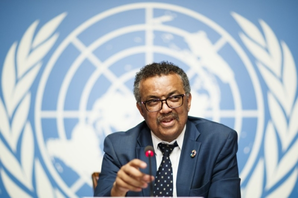 Tedros Adhanom Ghebreyesus, director-general of the World Health Organization (WHO), attends a press conference at the European headquarters of the United Nations in Geneva, Switzerland, in this file picture. — Courtesy photo