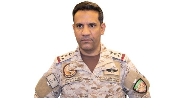 Official spokesman of the Coalition to Restore Legitimacy in Yemen Brig. Gen. Turki Al-Maliki.