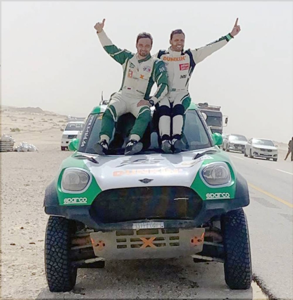Victory for Seaidan and Kuzmich in Sharqiyah Baja.
