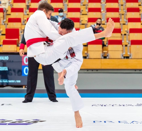 Abu Dhabi demonstrates its ability to host major sporting events safely with 500 local and international jiu-jitsu athletes taking to the mats at Jiu-Jitsu Arena.