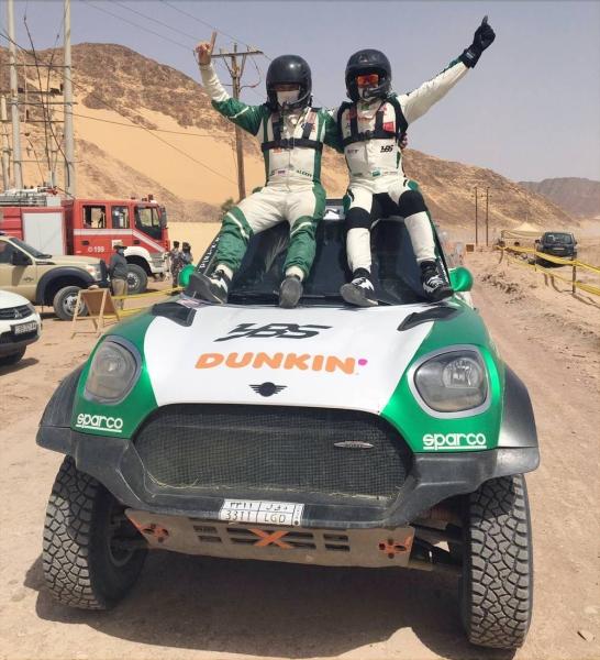 Yasir Seaidan and Alexey Kuzmich win the Jordan Baja
