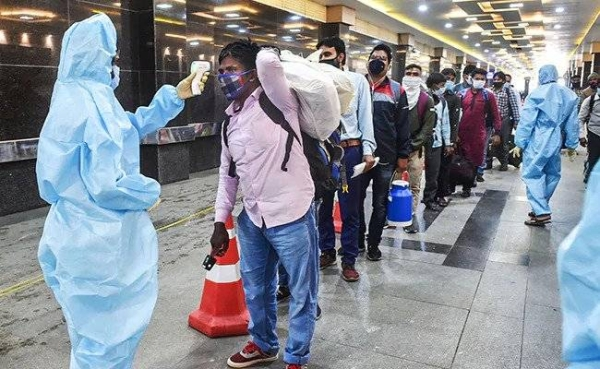 India reported 46,951 new coronavirus cases on Monday, the highest single-day rise since Nov.12 and the sixth consecutive daily increase in infections. — Courtesy photo