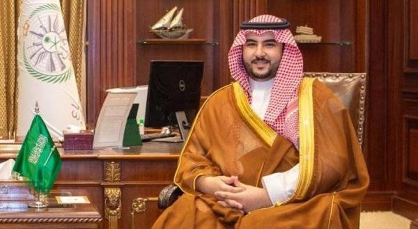 Deputy Defense Minister Prince Khalid Bin Salman