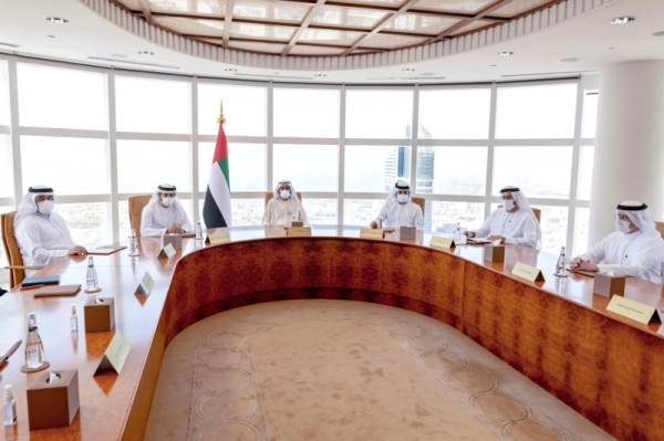 Dubai ruler Sheikh Mohammed bin Rashid Al Maktoum, who is also the vice president and prime minister of the United Arab Emirates, approved several new Dubai Council resolutions at a Council meeting he chaired on Tuesday aimed at accelerating the city's growth in its new phase of development. — WAM photo