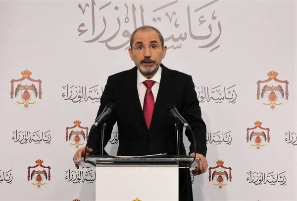 Malicious plot' foiled in Jordan: Safadi