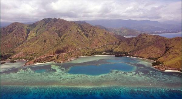 File photo shows an aerial view near Dili, Timor-Leste. – courtesy UN Photo/Martine Perret