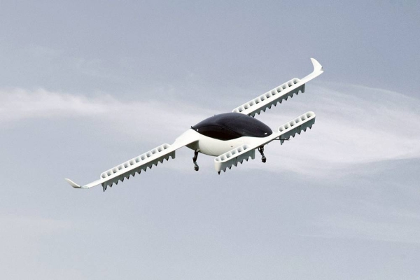 File photo of the Lilium Jet flying. Future Investment Initiative Institute (FII-I) has invested in Lilium as part of a strategy to develop and leverage sustainable and environmentally-friendly alternatives to traditional combustion engines in the air travel industry.