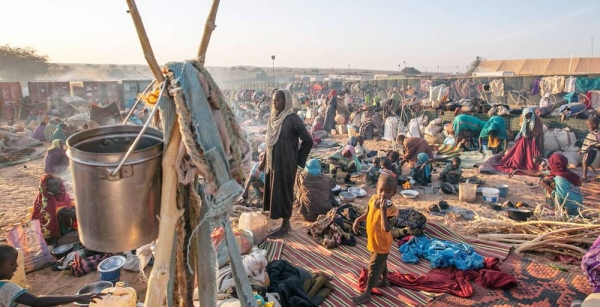File photo shows displaced persons, mostly women and children, in North Darfur, Sudan. — courtesy UNAMID/Hamid Abdulsalam