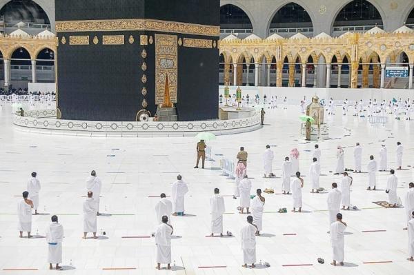 3 tracks closest to Kaaba set for elderly, disabled pilgrims for tawaf