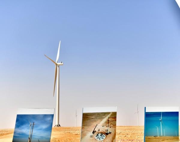 Mideast's largest wind farm in Saudi Arabia reaches halfway mark