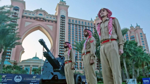 Dubai Police have been making the final arrangements and remain on standby to fire the cannons that will announce the sighting of the new crescent and the start of Ramadan, as is tradition since the early 1960s.