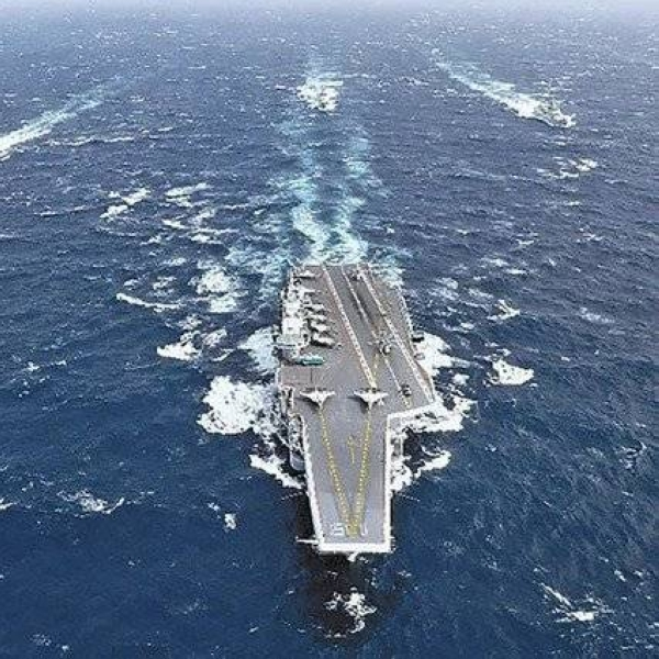 Military activity in the South China Sea spiked over the weekend as a Chinese aircraft carrier entered the region and a US Navy expeditionary strike group wrapped up exercises. — Courtesy file photo