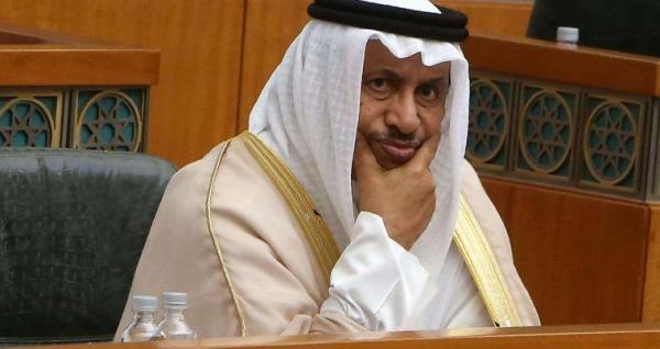 Kuwait's former Prime Minister Jaber Al-Mubarak Al-Hamad Al-Sabah