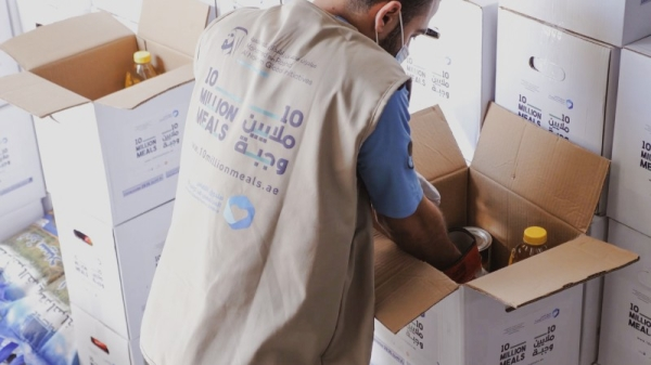 Businessman Yusuff Ali M.A, chairman of Lulu Group, donated 1 million dirhams to provide one million meals to the region's largest food drive that aims to provide food parcels to disadvantaged families and individuals across 20 countries in the Middle East, Asia, and Africa throughout the month of Ramadan. — WAM file photo