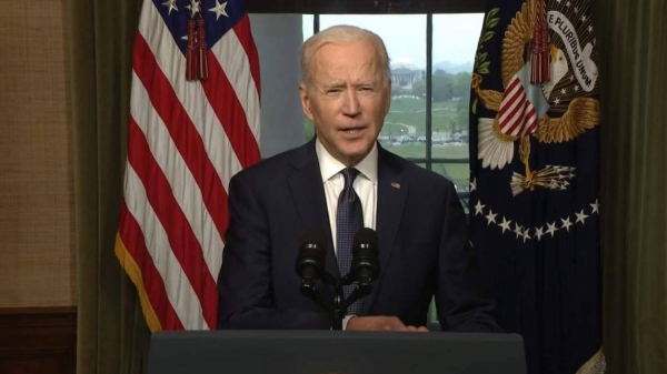 President Joe Biden formally announced his decision to end America's longest war on Wednesday, deeming the prolonged and intractable conflict in Afghanistan no longer aligned with American priorities. — Courtesy photo