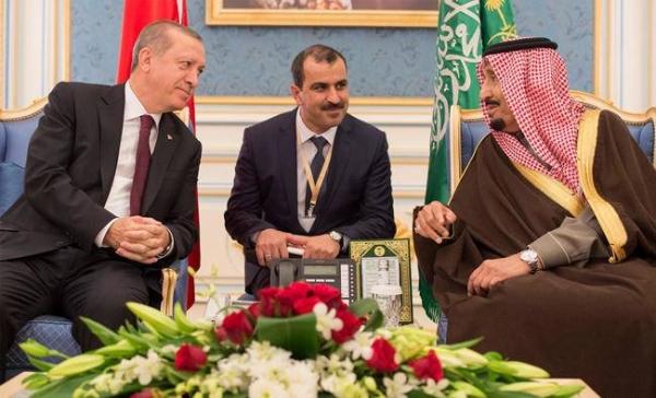 King Salman receives phone call from Turkish President Erdogan