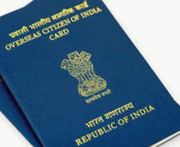 OCI status gives holders of passport-like cards issued by the Indian government all the benefits of Indian citizenship except voting rights and the right to own agricultural land while retaining their foreign passports. OCI cards serve as multiple entries, life-long visas for such cardholders to enter or live in India.