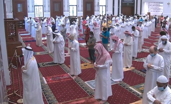 Friday prayer resumes in mosques in Bahrain