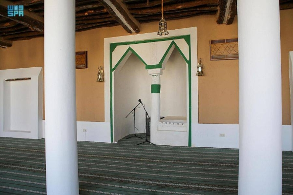 Historic Qafar Mosque in Hail reopens to worshipers