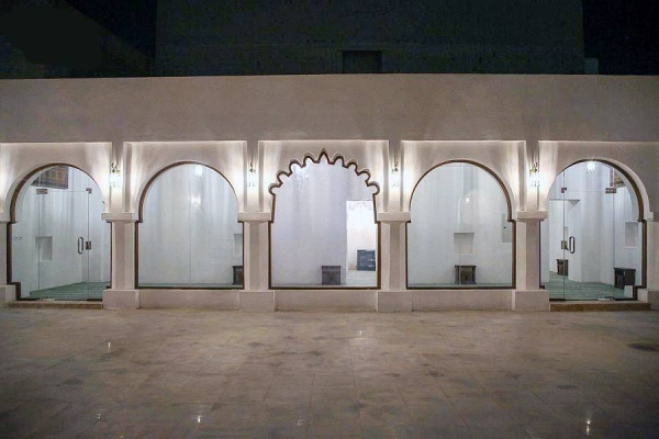 Thirteenth Hijri Century Al-Habeish Mosque has opened its doors to worshippers after it has been rehabilitated and renovated.
