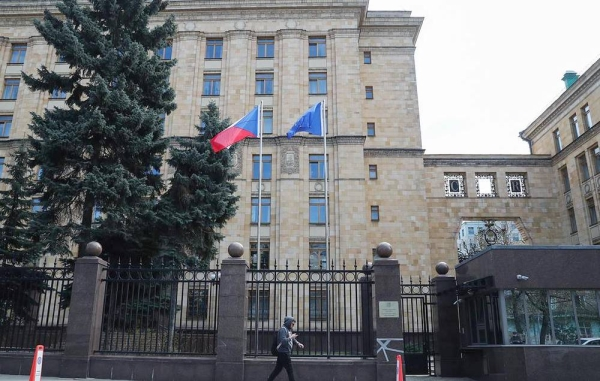 A view of the Embassy of the Czech Republic in central Moscow. — courtesy Mikhail Tereshchenko/TASS  'Äì–æ—Å—Å–∏'Ǩ. —õ–æ—Å–∫–≤–∞. ¬´–¥–∞–Ω–∏–µ –ø–æ—Å–æ–ª—å—Å—Ç–≤–∞ 'Äû–µ—Ö–∏–∏ –≤ 'Äì–æ—Å—Å–∏–∏. —õ–∏—Ö–∞–∏–ª 'Äú–µ—Ä–µ—â–µ–Ω–∫–æ/'Äú—ò'Äî'Äî