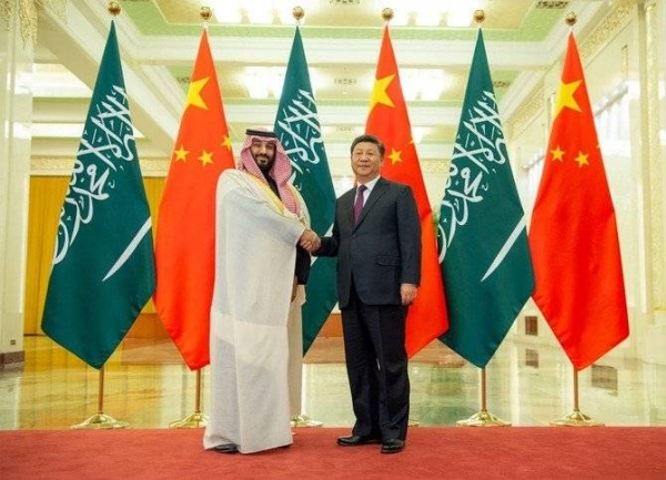 Crown Prince and Chinese president seek to strengthen bilateral ties in phone call