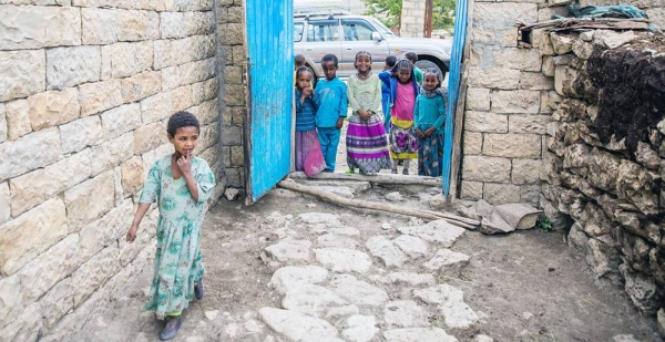 File photo shows that more than a million are displaced in Ethiopia's Tigray region says UNICEF, and the welfare of children is of major concern. — courtesy UNICEF/Zerihun Sewunet
