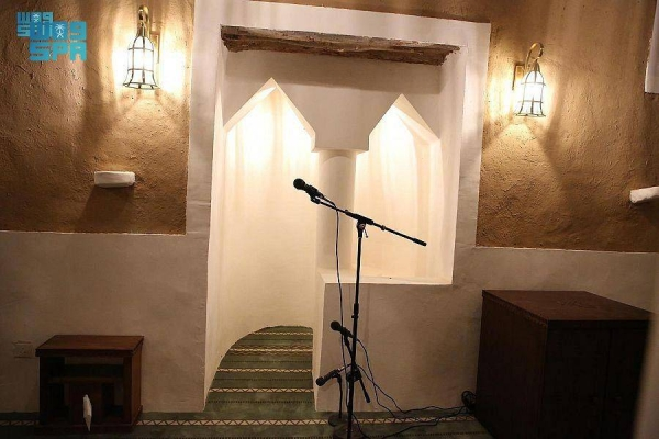 he historic Al-Towaim Mosque, one of the oldest heritage buildings in the region, is located in the Al-Majma'ah governorate, north of Riyadh.