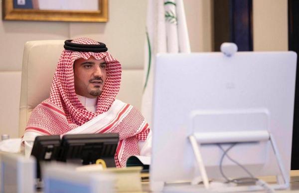 Minister of Interior Prince Abdulaziz Bin Saud Bin Naif.