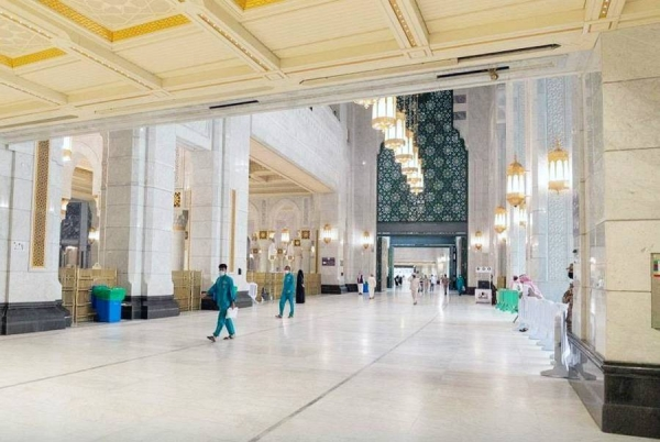 The General Presidency for the Affairs of the Grand Mosque and the Prophet's Mosque inaugurated the third expansion of the Grand Mosque during this year's holy month of Ramadan.