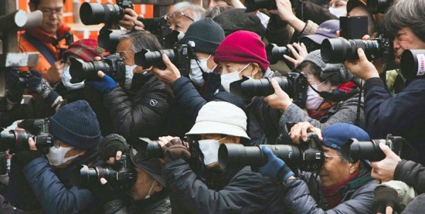 Press gather at an event in Shanghai, China. — courtesy Unsplash/Zeg Young