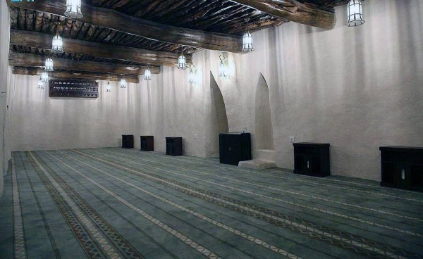 Sadraid Heritage Mosque is one of the oldest mosques in the Asir region in the south of the Kingdom of Saudi Arabia.