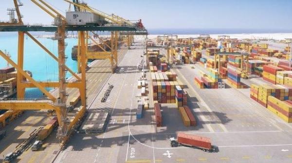 File photo of the container terminal at Saudi Arabia's King Abdulaziz Port Dammam.