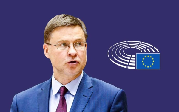Valdis Dombrovskis, executive vice-president of the European Commission.